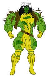 Rogue (She Hulk) by Dairugger