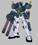 XXXG-01H2 Gundam Heavyarms Custom