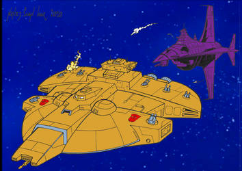 Space Pursuit by Dairugger