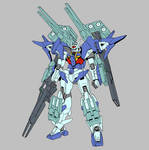 GN-0000DVR/S/HWS Gundam 00 Sky Heavy Weapon System