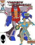 Transformers Issue #9 cover parody by Dairugger