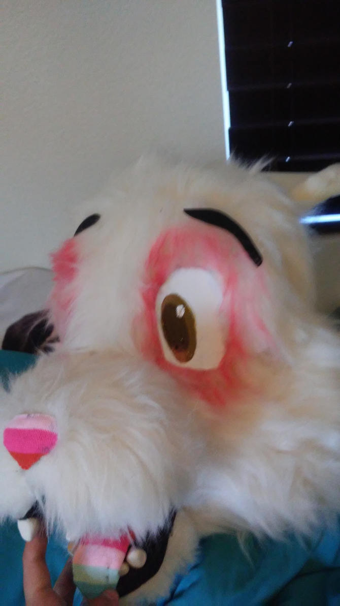 Anuther fursuit head (wip) by FoobyFob