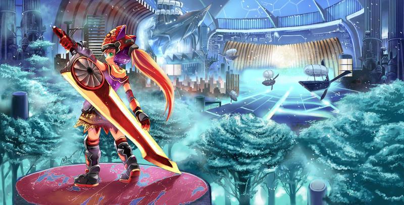 Fantasy world by garun