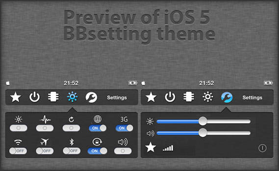 BBSettings Theme preview