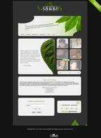 Personal Portfolio - Green by SpeedD