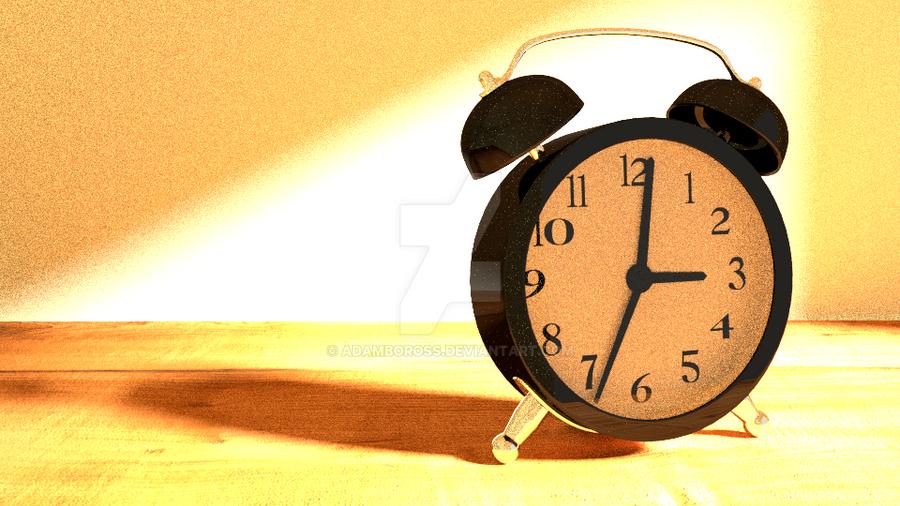 Clock by adamboross
