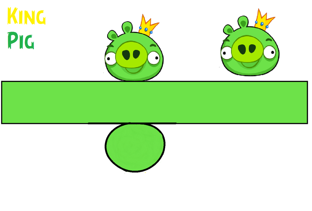 King pig template by bluejay5678 on deviantart for Angry bird pig template