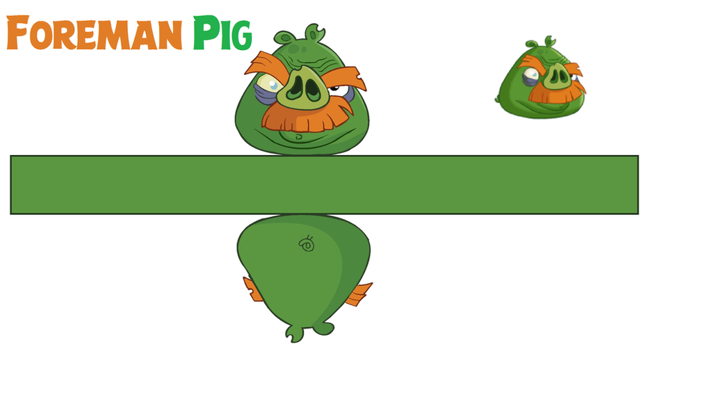 Foreman pig toons templates by bluejay5678 on deviantart for Angry bird pig template