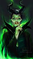 Maleficent by Raiecha