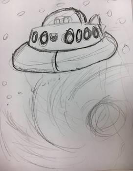 Cosmos sketch