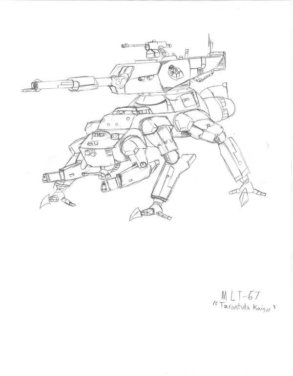 MLT-67 Tarantula Kaiser by TheRepublicanMartian