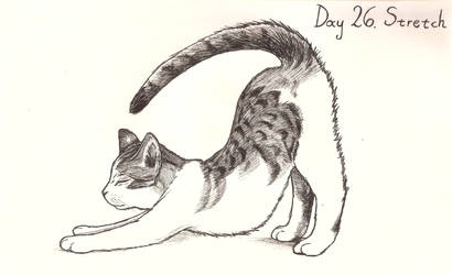 Inktober day 26: Stretch