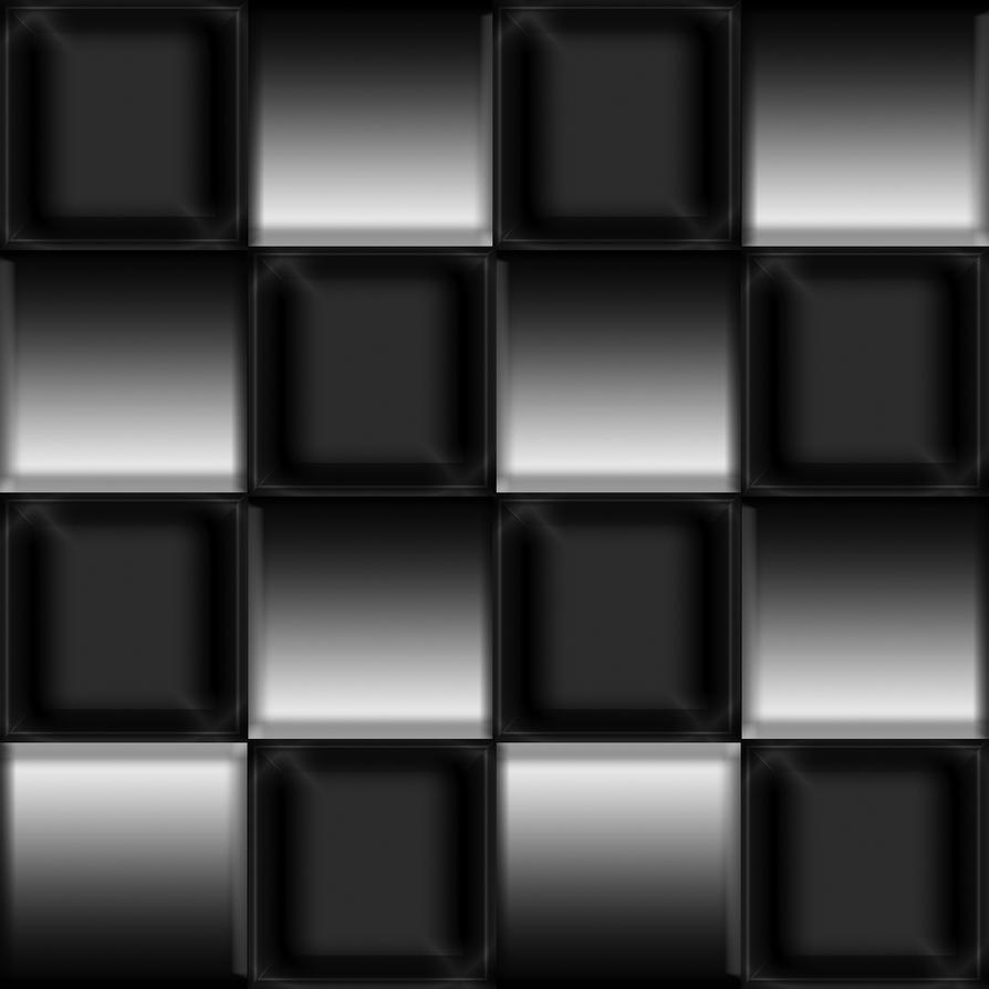 Chequered Floor Metallic Black And Silver By Raphaellanightfire On Deviantart