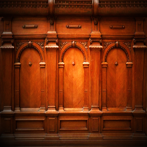 shaded gothic wood panelling by RaphaellaNightfire on