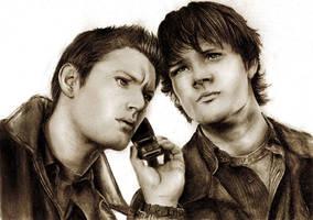 Dean and Sam by Touya-shi