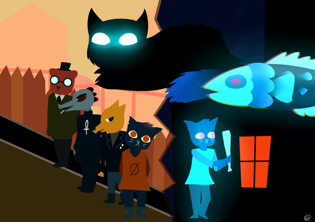 Night in the woods fanart by rainbowcloud96 on deviantart - The hideout in the woods an artists dream ...