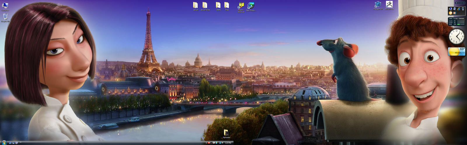 Ratatouille Dual Widescreen by TimothyB