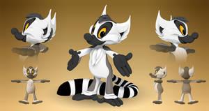 Kiki the Lemur in 3D