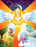 Equestria in Harmony Poster - Contest Entry