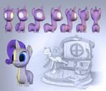 My Little Pony 3D WIP