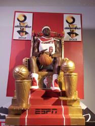 King LeBron ESPN