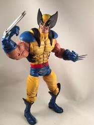 Wolverine Jim Lee Style Custom Action Figure