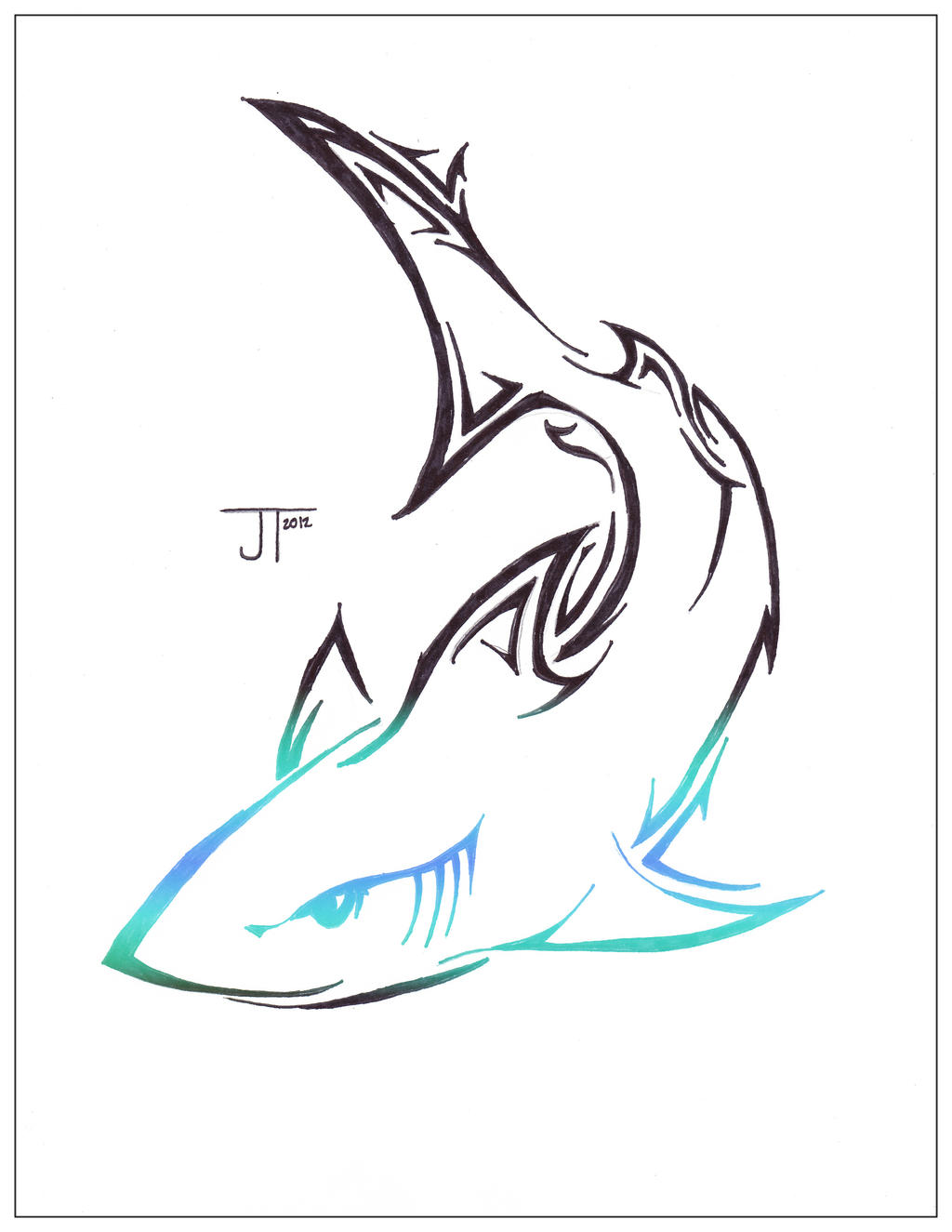 D Line Drawings Logo : Mako ii by mile on deviantart