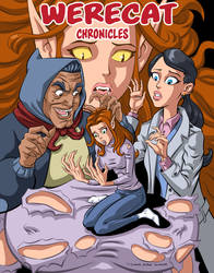 WereCat Chronicles Cover (Cover Only) by TijuanaBibleScholar