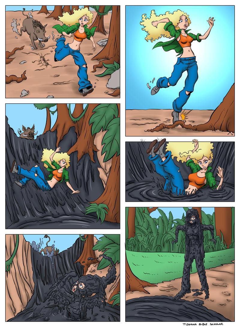 Debbie Thornberry WAM Comic by TijuanaBibleScholar