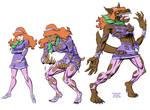 Daphne Werewolf Tranformation