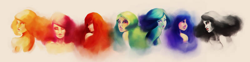 The colors by Cittlalli-Guemes