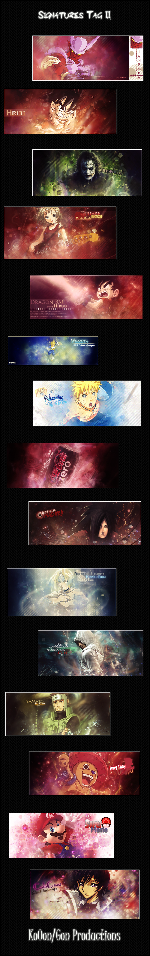 ~|²#Gon's_Gallery#²|~ Signature_wall_II_by_Ko0on
