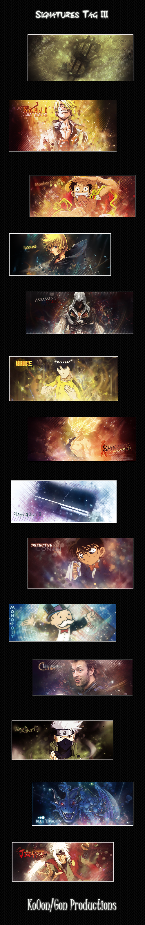 ~|²#Gon's_Gallery#²|~ Signature_wall_III_by_Ko0on
