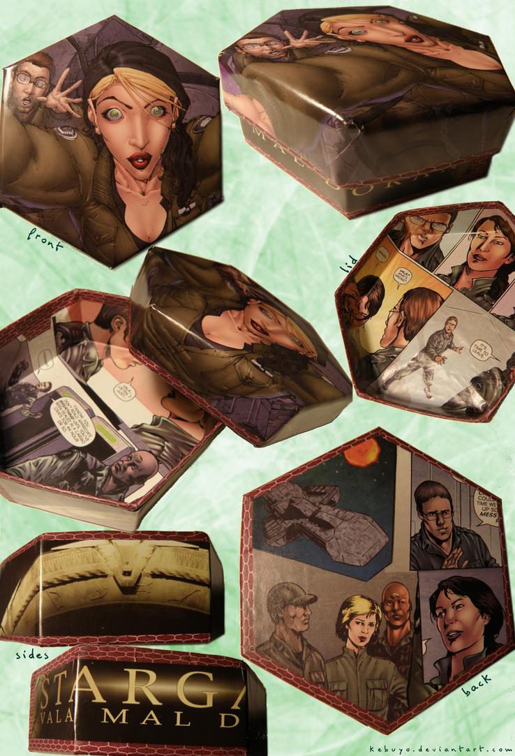 Stargate Comic Box (DIY) by Kebuyo