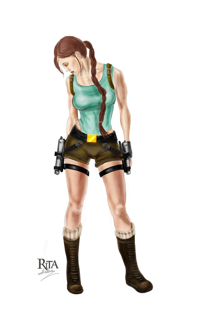 Lara Croft by rita-unknown