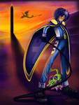 The Digimon Kaiser by evelynbordeaux