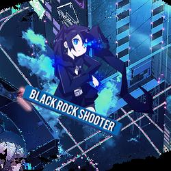 Black Rock Shooter by ShiraTensei