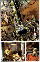 Doctor Who II issue 5 pg 1 by CharlieKirchoff