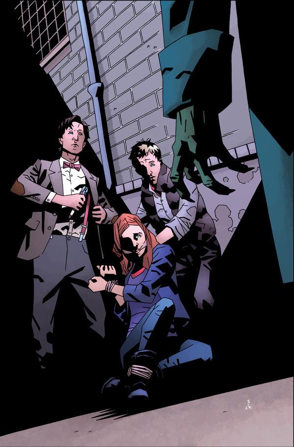 Doctor Who II Issue 4 Cover by CharlieKirchoff