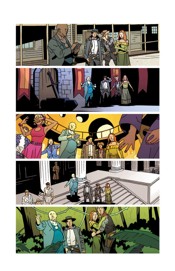 Doctor Who II Issue 6 Pg5 by CharlieKirchoff