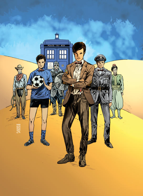 Doctor Who II Issue 8 Cover by CharlieKirchoff
