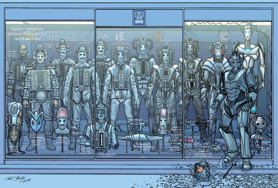Evolution Of The Cybermen Cybermen by CharlieKir...