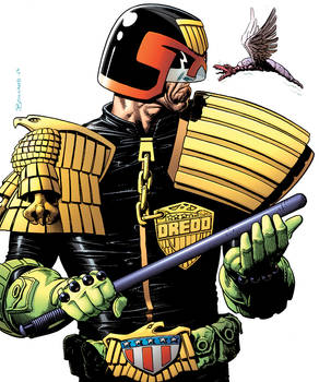 Judge Dredd The Complete Brian Bolland