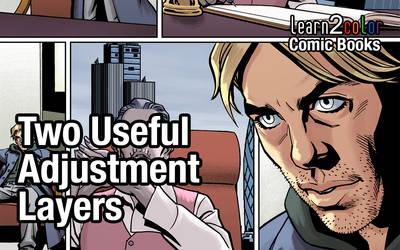 Two Useful Adjustment Layers (YouTube Link)