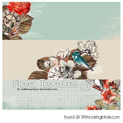 FloralTexturepk07 by SublimeArtDusT