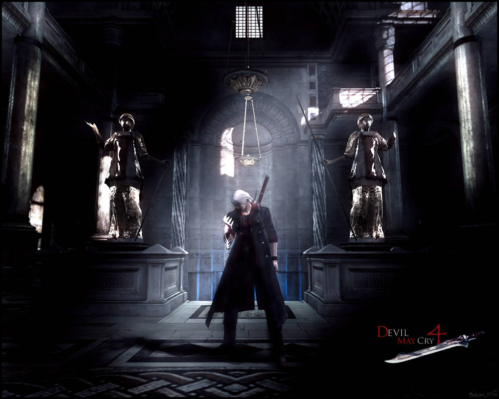 Devil May Cry 4 Wallpaper By Ancesttral On Deviantart