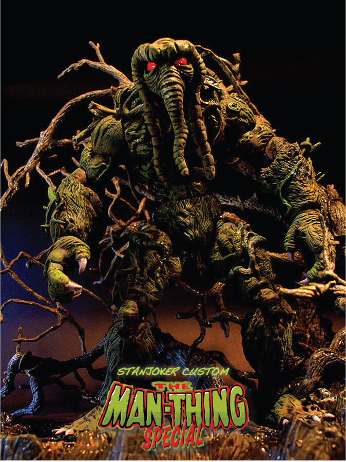 "CUSTOM ""THE MAN-THING"" by STANJOKER"