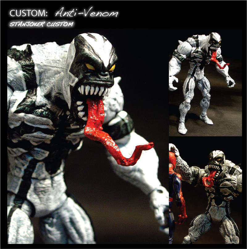 CUSTOM ANTI-VENOM by STANJOKER