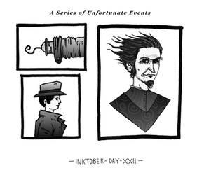 Inktober - Day XXII by Gytrash01
