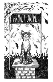 HP1- Mcgonagall at Privet Drive